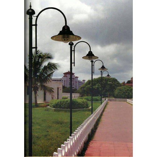 Light Pole Design: LED Garden Lighting Pole, Rs 3000 /piece, Shri Kanakka