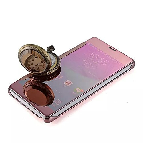 best authentic c4345 c6035 Samsung Galaxy Note 5 N920 Clear Mirror Flip Case Cover