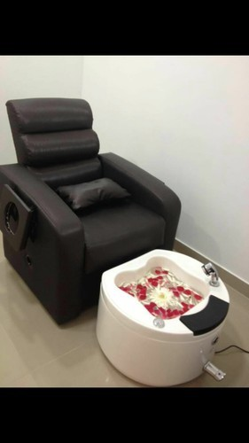 Portable Pedi Spa Station Pedicure Sofa With Jacuzzi Tub