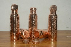 100% Copper bottles