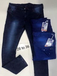 LOCAL KNITTED Denim Jeans For Men, 28 to 36