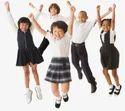 Summer White & Black School Uniforms