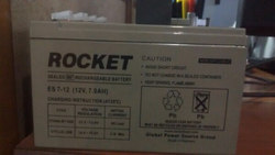 Rocket Rechargeable Batteries