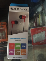 Zebronic Earphone