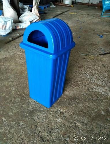 Blue And Green Roto Dustbin
