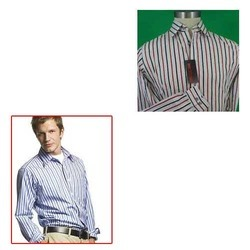 Men Striped Shirts for Office