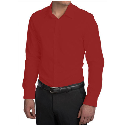Men Dark Red Shirt at Rs 190 /piece | Gents Shirts, Mens Shirts ...