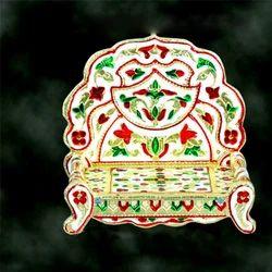 Wooden Singhasan