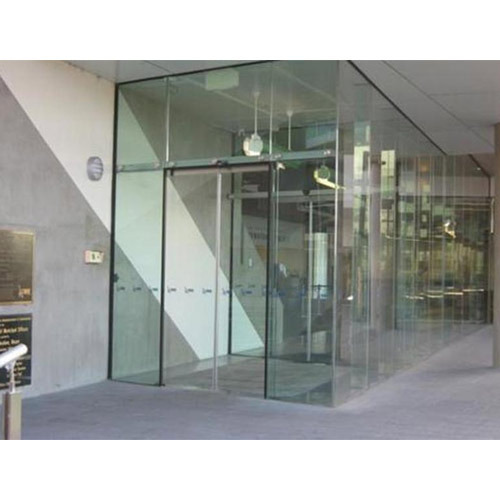 Glass Partition With Patch Fittings Patch Fitting Glass