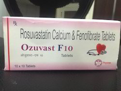 Rosuvastatin Calcium and Fenofibrate Tablets