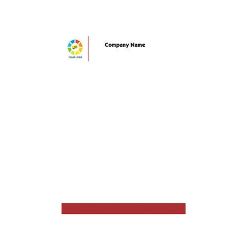 Company Letterhead At Rs  Piece  Company Letterheads
