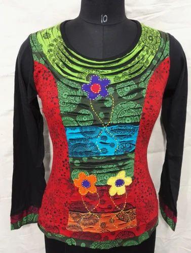 8f7c89ce0a7 Ladies Cotton Hosiery Designer Top at Rs 400  piece