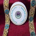 Golden Blue Fancy Ribbon