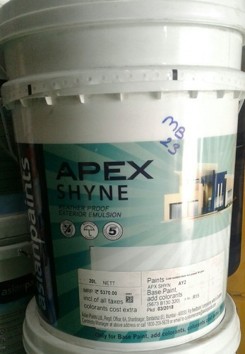 Asian paint cost
