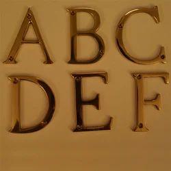 Brass Letter