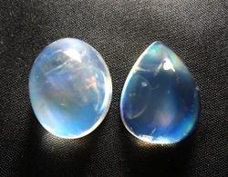 Rainbow Moonstone Cabochon Gemstone