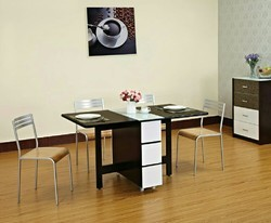 Wooden Black Dining folding table