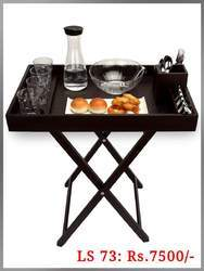 Snacks Serving Table