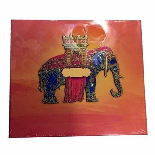 Rajasthani Wedding Card At Rs 600 Piece
