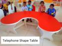 Telephone Shape Table