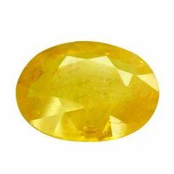 6.25 Ratti Yellow Sapphire Stone