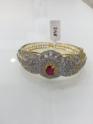 American Ruby Diamond Bracelet at Rs 2250 piece s