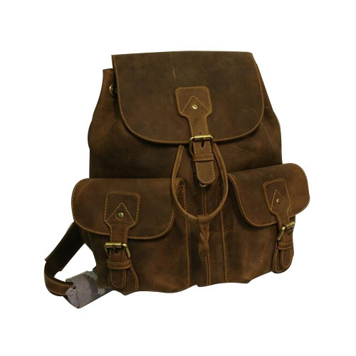 Trendy Leather Backpack, चमड़े का पिटठू बैग - Arise ... 116bf67d37