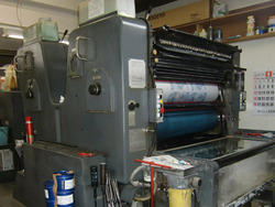 Two Colors Heidelberg SORSZ Two Color Offset Press Machine