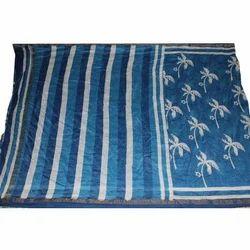 Bagru Hast Kala Printers Party Wear Discharge Print Chanderi Silk Saree, 5.2 M (separate Blouse Piece)