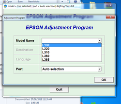Epson Reset Waste Pad Counter Software