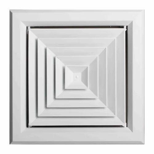 Aluminum Square Diffuser Rs 950 Piece Pathak Aircon