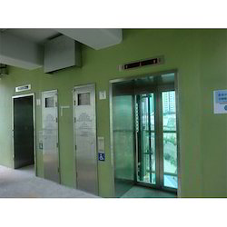 Machine Room Fewer Elevators
