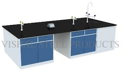 Laboratory Island Bench with Sink
