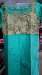 Raw Silk Designer Kurti
