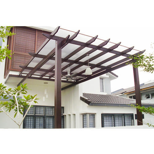 Roofing Glass Pergola - Roofing Glass Pergola, Sedate Stainless Steel Equipment Industries