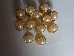golden brass Kurta Buttons, For Garments, Packaging Type: groos
