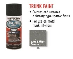 Rust Oleum Automotive Trunk Paint
