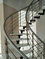 Attractive Aluminum Staircase