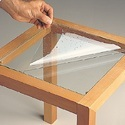 Transparent Pvc Safety Glass Film, Packaging Type: Roll