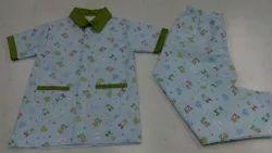Cotton Printed Kids Night Suit