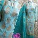 Stiched Cotton Suit