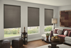 Black PVC Honeycomb Blind