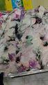 Ladies Flower Print Chiffon Top