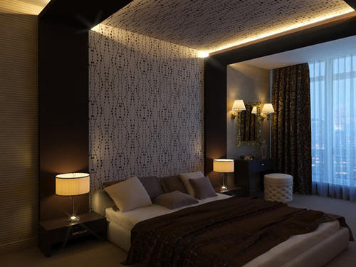 Bedroom False Ceiling Design Service In Sector 4 Noida Metal