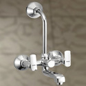 Ciko Brass Fancy Wall Mixer With L Bend, For Bathroom Fittings