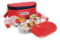 Magnus Double Decker Lunch Box With Steel Containers