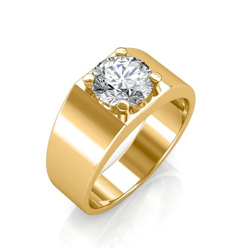Sarvada Jewels Solitaire Mens Diamond Ring Rs 29597 Piece Id