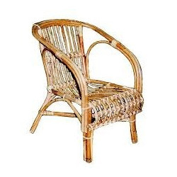 Ordinaire Cane Outdoor Chair