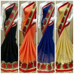 Flower Printed Sarees