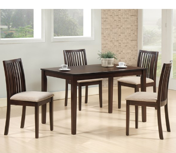 arena berry dining table with 4 chairs cmm rh indiamart com